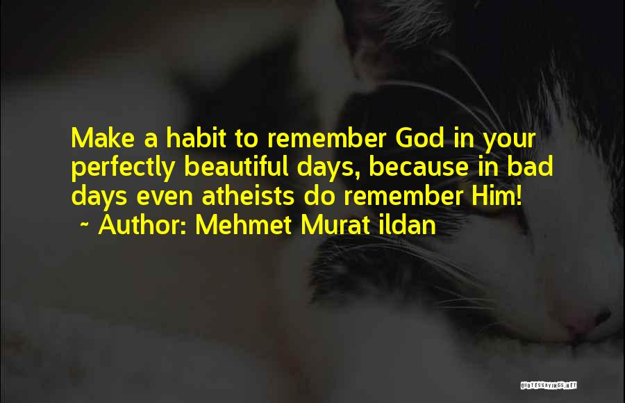 Bad Habit Quotes By Mehmet Murat Ildan