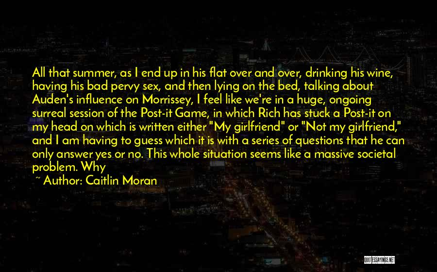 Bad Influence Drinking Quotes By Caitlin Moran