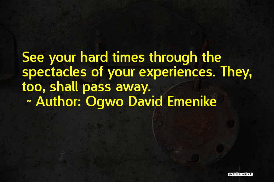 Bad Inspirational Quotes By Ogwo David Emenike