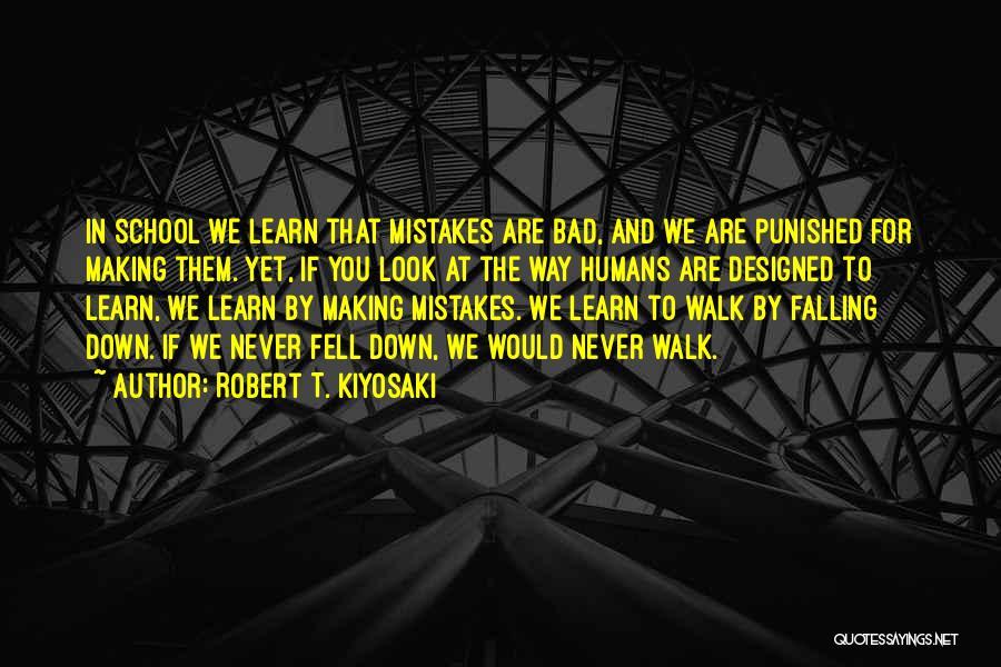 Bad Inspirational Quotes By Robert T. Kiyosaki