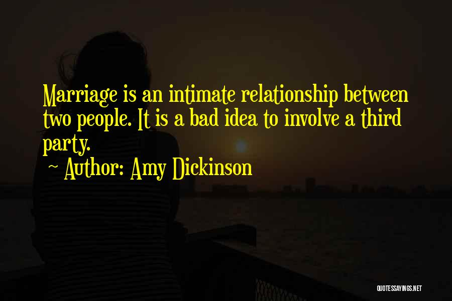 Bad Past Relationships Quotes By Amy Dickinson