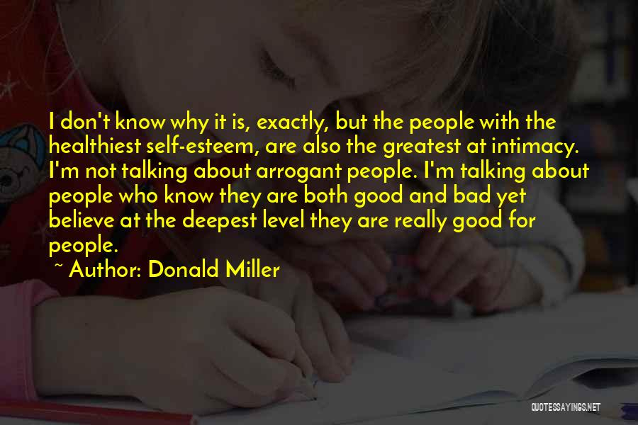 Bad Past Relationships Quotes By Donald Miller