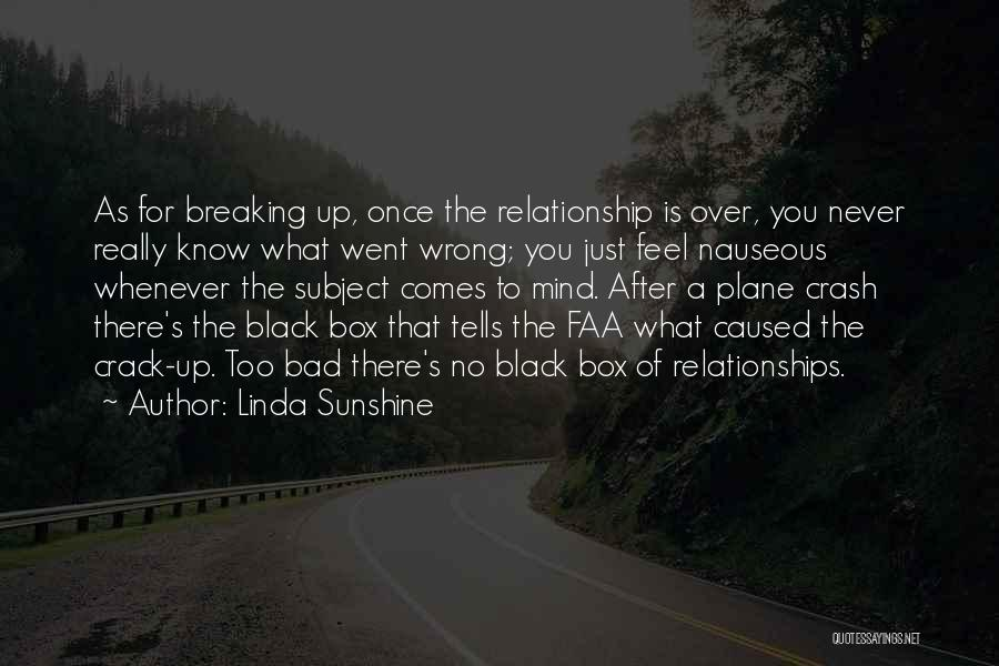 Bad Past Relationships Quotes By Linda Sunshine