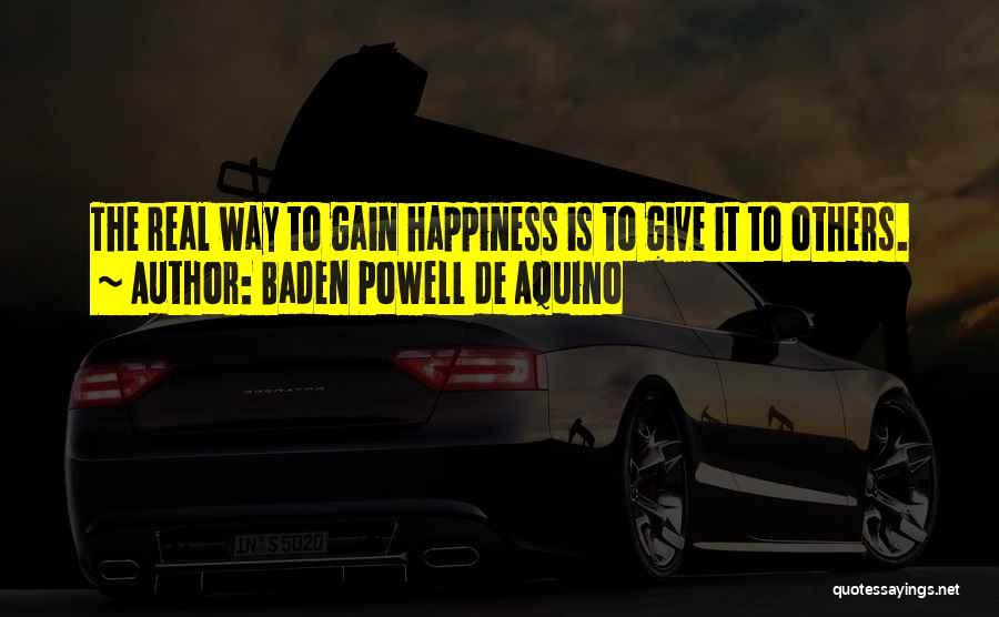 Baden Powell De Aquino Quotes 1516788