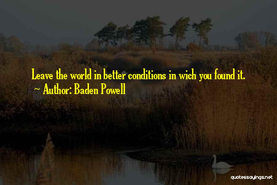 Baden Powell Quotes 2020723