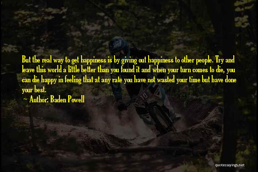 Baden Powell Quotes 386193