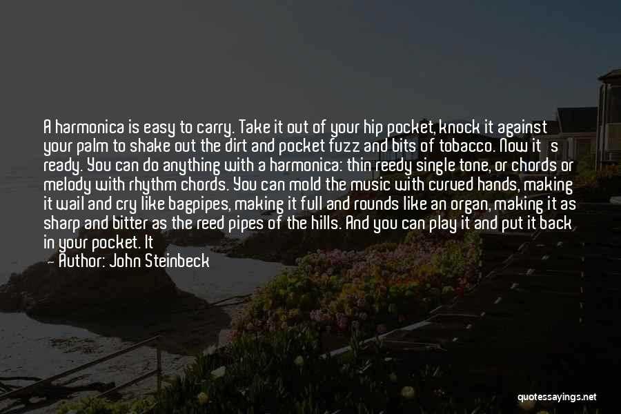 Bagpipes Quotes By John Steinbeck