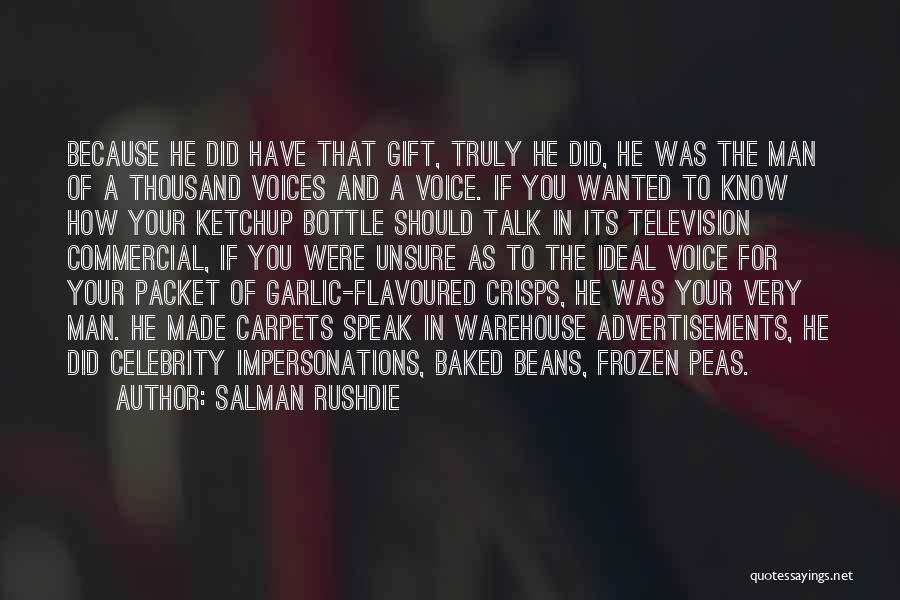 Baked Beans Quotes By Salman Rushdie