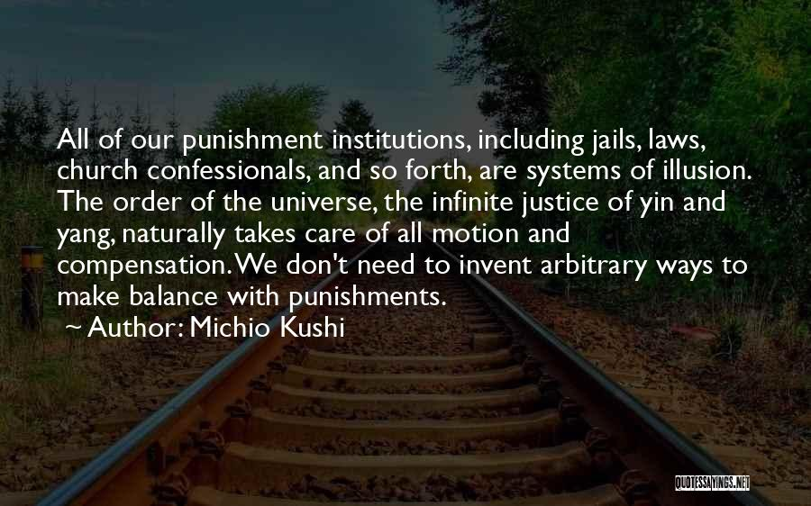 Balance Yin Yang Quotes By Michio Kushi