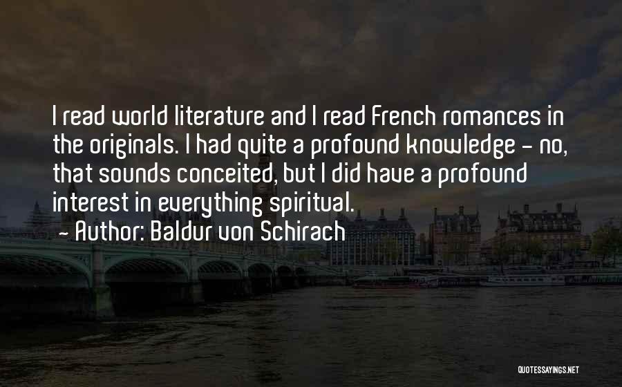 Baldur Von Schirach Quotes 1852683