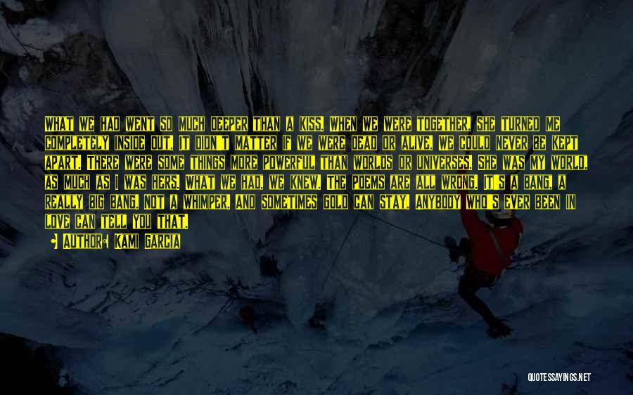 Bang Bang You're Dead Quotes By Kami Garcia