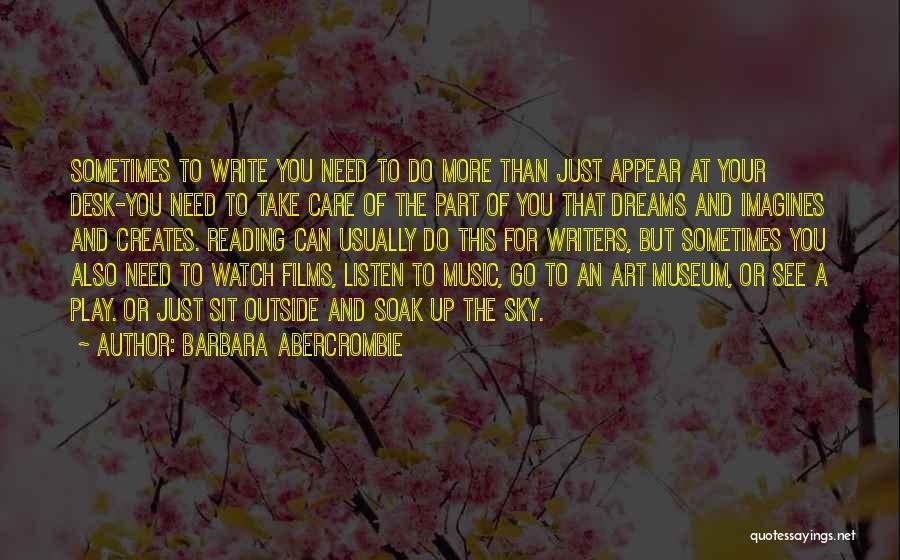 Barbara Abercrombie Quotes 2151130