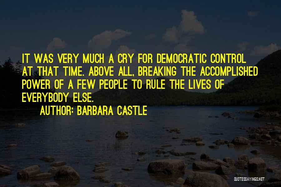 Barbara Castle Quotes 1040172