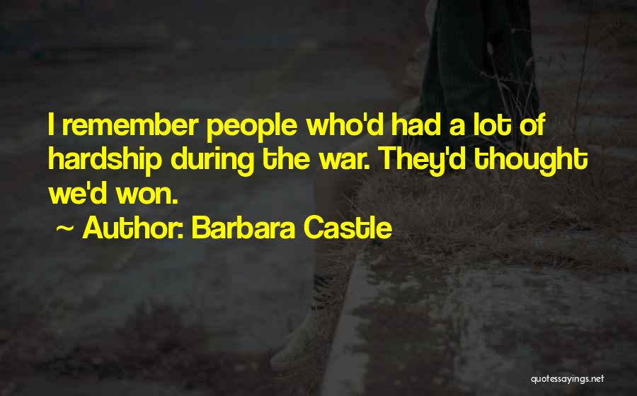 Barbara Castle Quotes 2186260