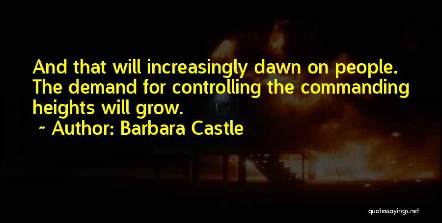 Barbara Castle Quotes 609374