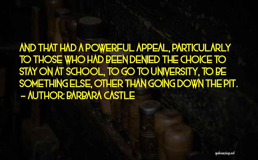 Barbara Castle Quotes 971914