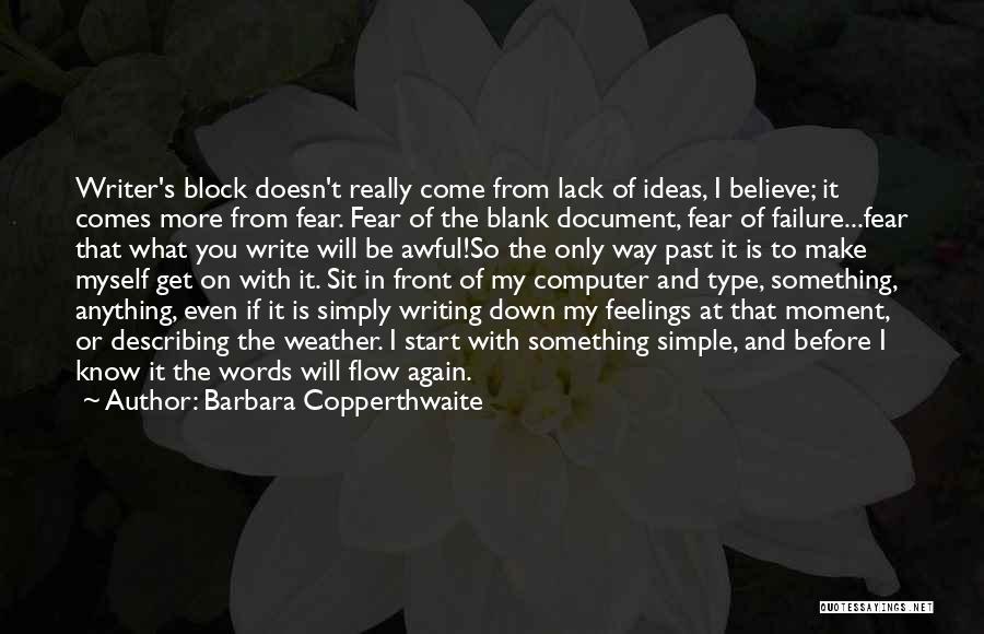 Barbara Copperthwaite Quotes 2048707