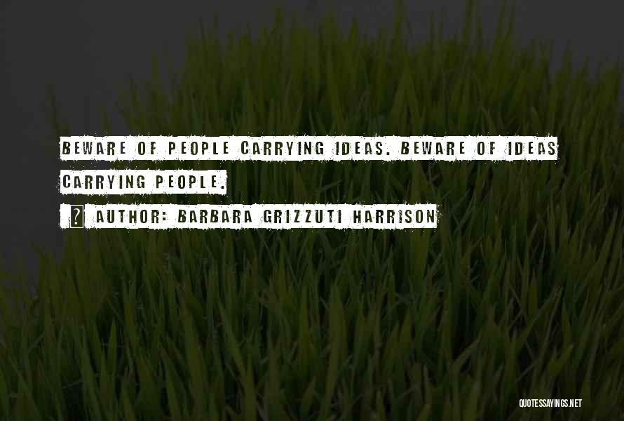 Barbara Grizzuti Harrison Quotes 1646259