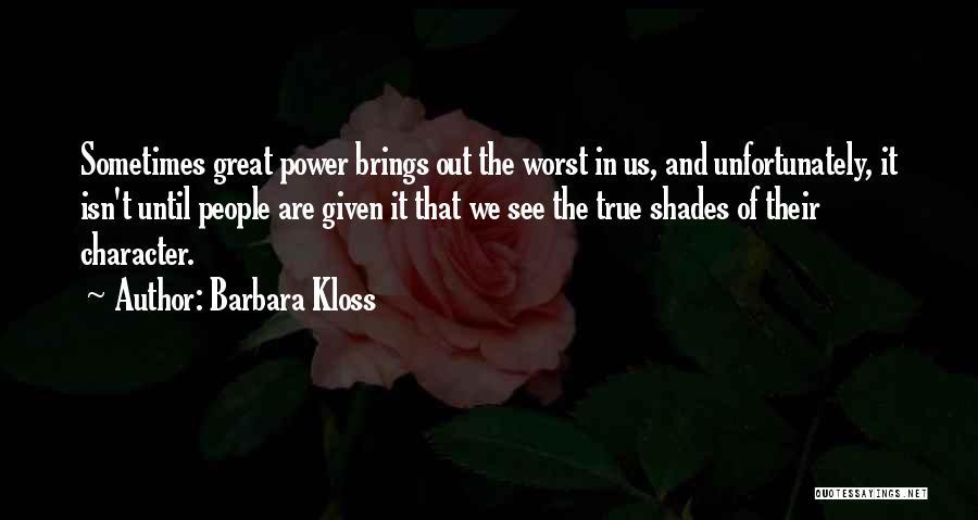 Barbara Kloss Quotes 1786647
