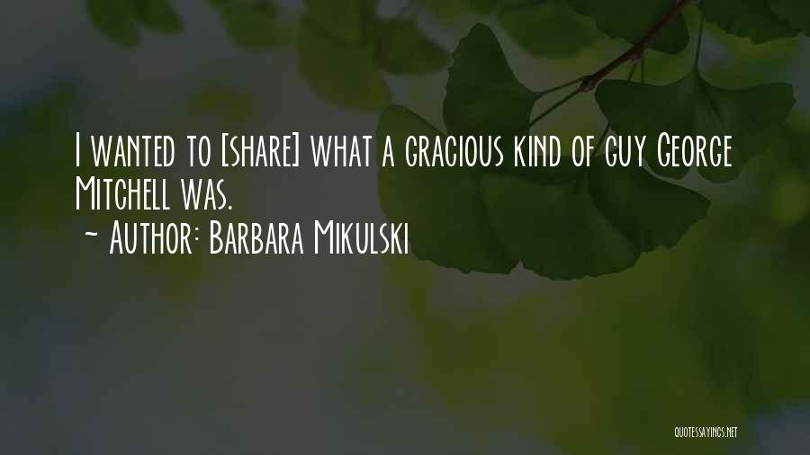 Barbara Mikulski Quotes 101004