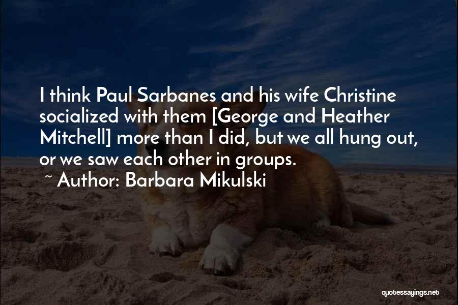 Barbara Mikulski Quotes 2006020