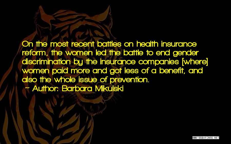 Barbara Mikulski Quotes 2146567