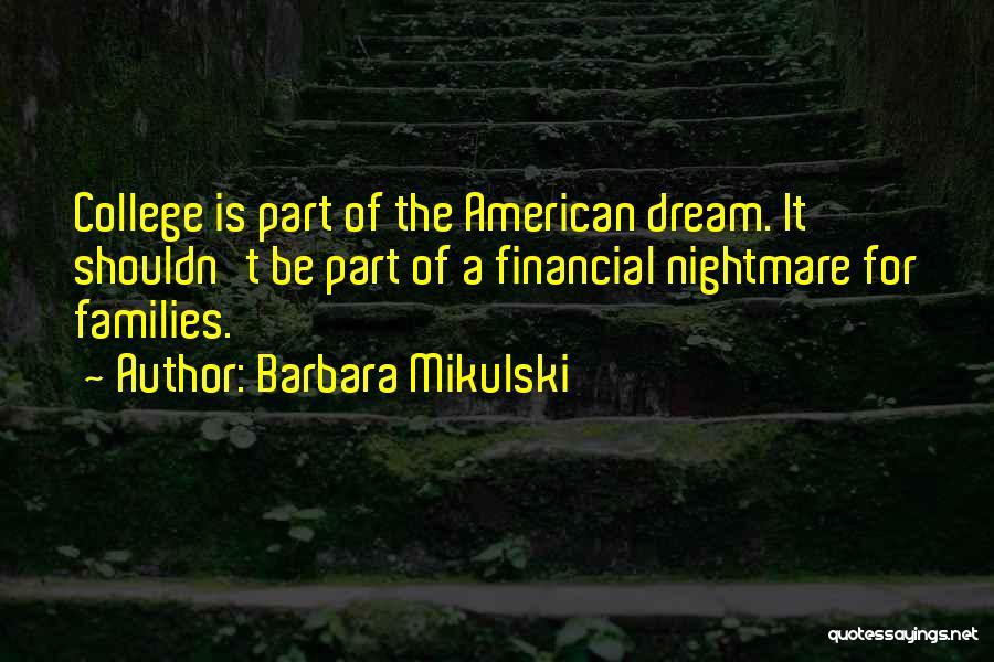 Barbara Mikulski Quotes 228237