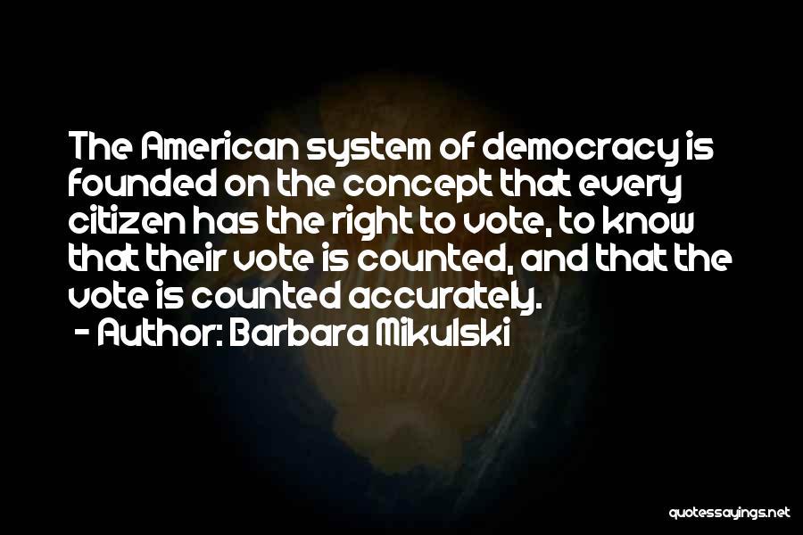 Barbara Mikulski Quotes 250372
