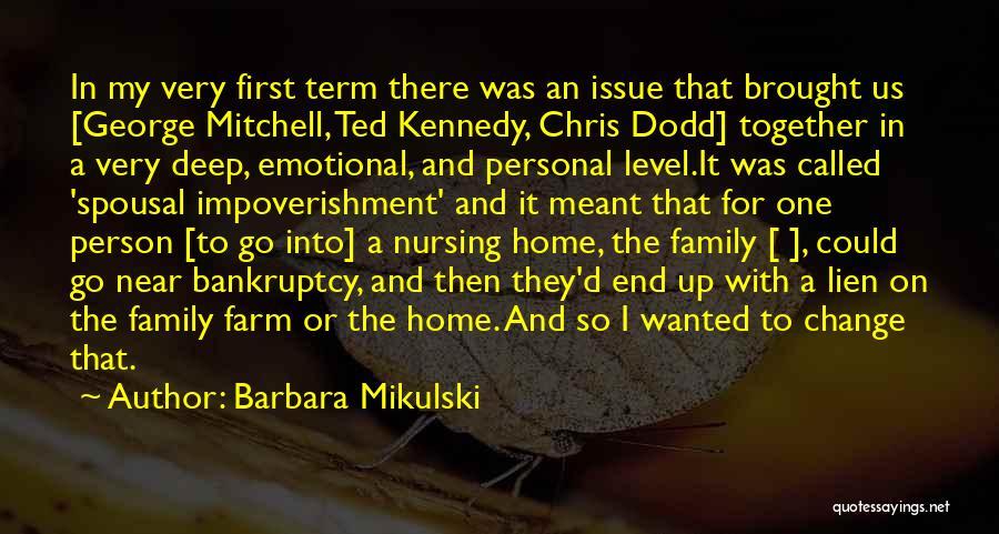 Barbara Mikulski Quotes 406253