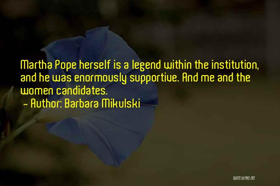 Barbara Mikulski Quotes 416669