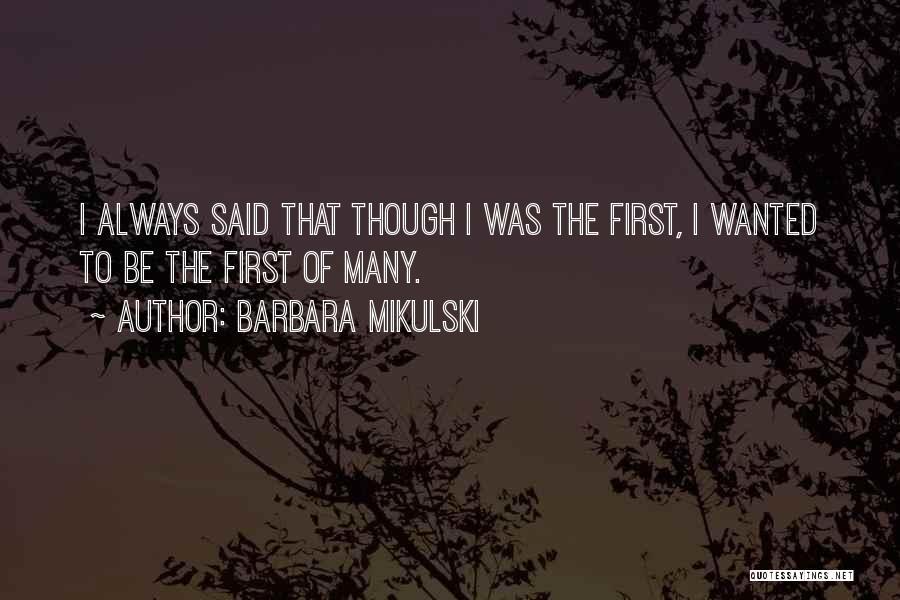 Barbara Mikulski Quotes 716502