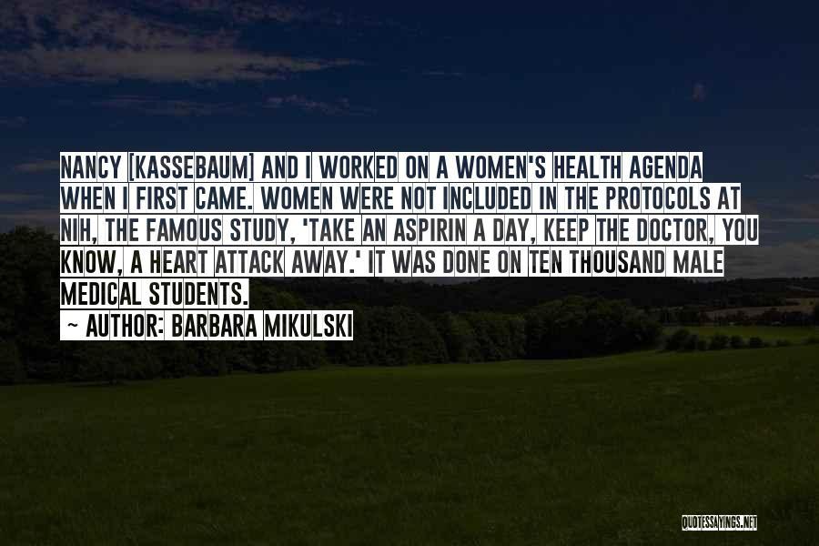 Barbara Mikulski Quotes 747156