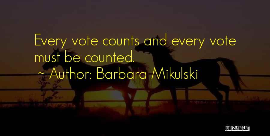 Barbara Mikulski Quotes 812365