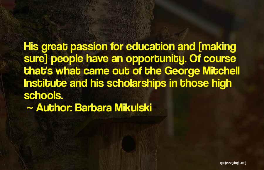 Barbara Mikulski Quotes 899075