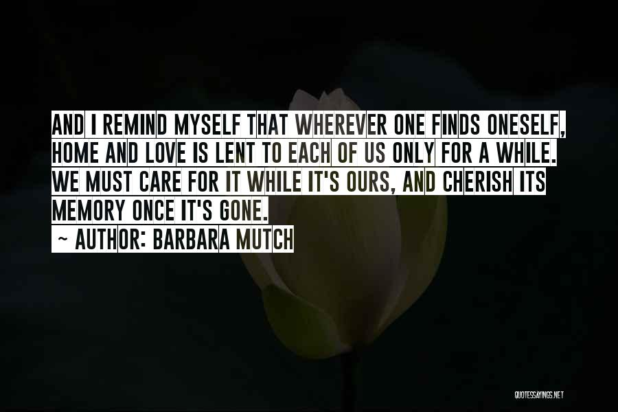 Barbara Mutch Quotes 1024938