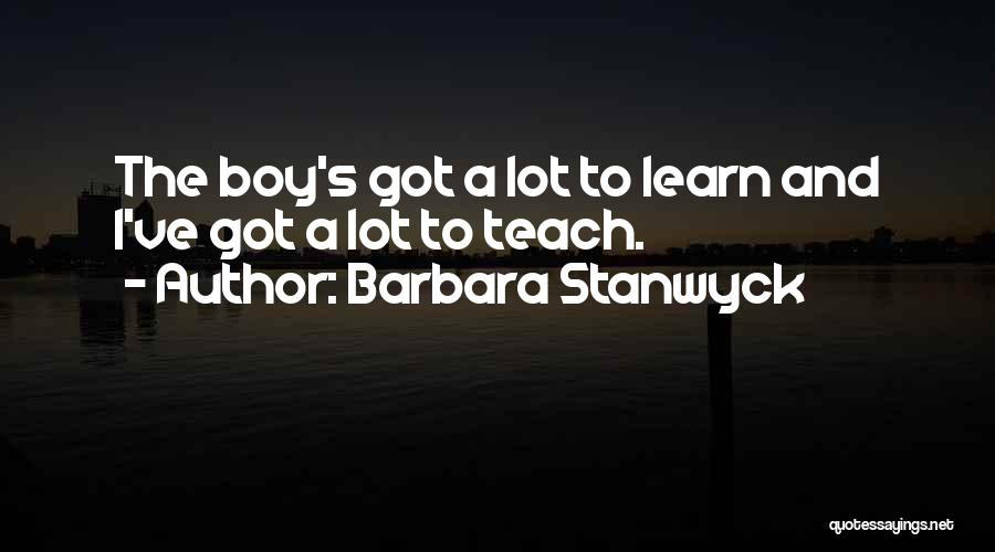 Barbara Stanwyck Quotes 1533137
