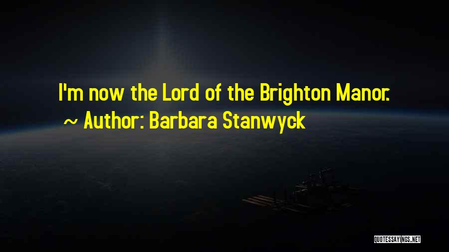 Barbara Stanwyck Quotes 804208