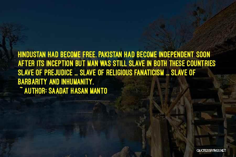 Barbarity Quotes By Saadat Hasan Manto