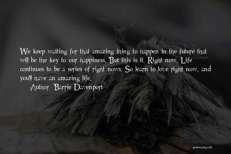 Barrie Davenport Quotes 1590532