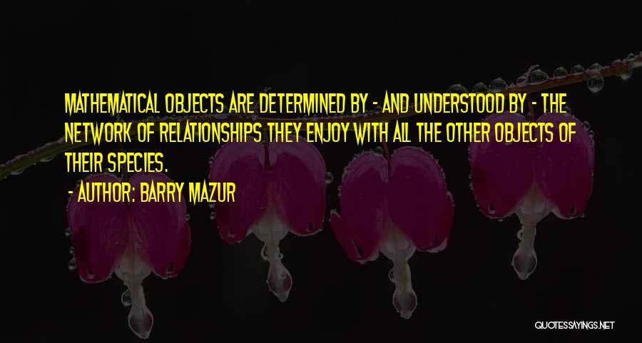 Barry Mazur Quotes 792394