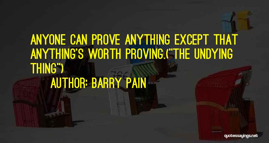 Barry Pain Quotes 1249392