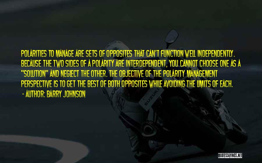 Barry Quotes By Barry Johnson