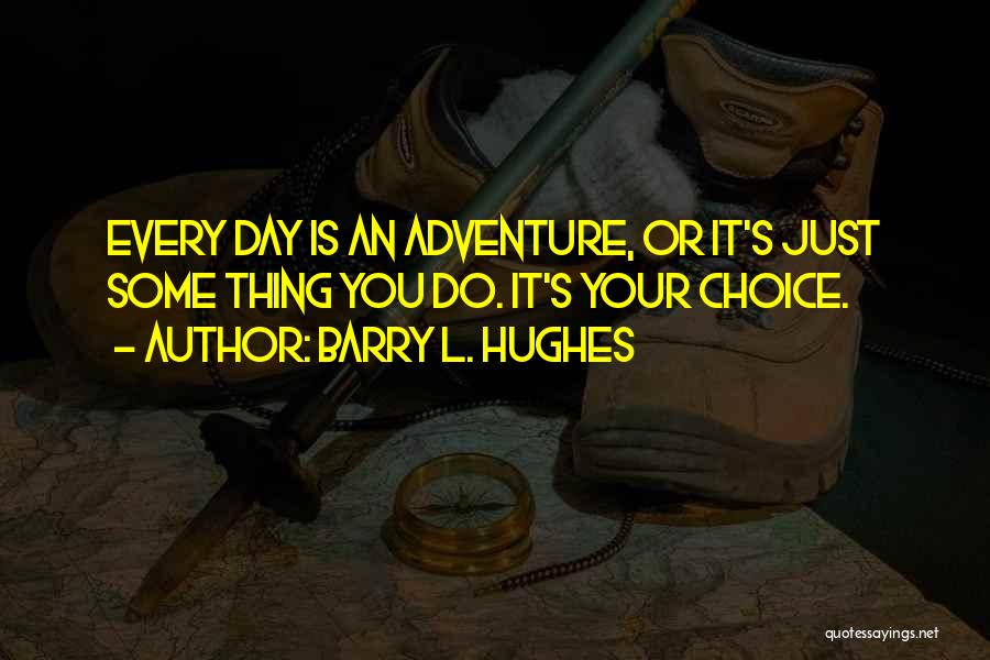 Barry Quotes By Barry L. Hughes