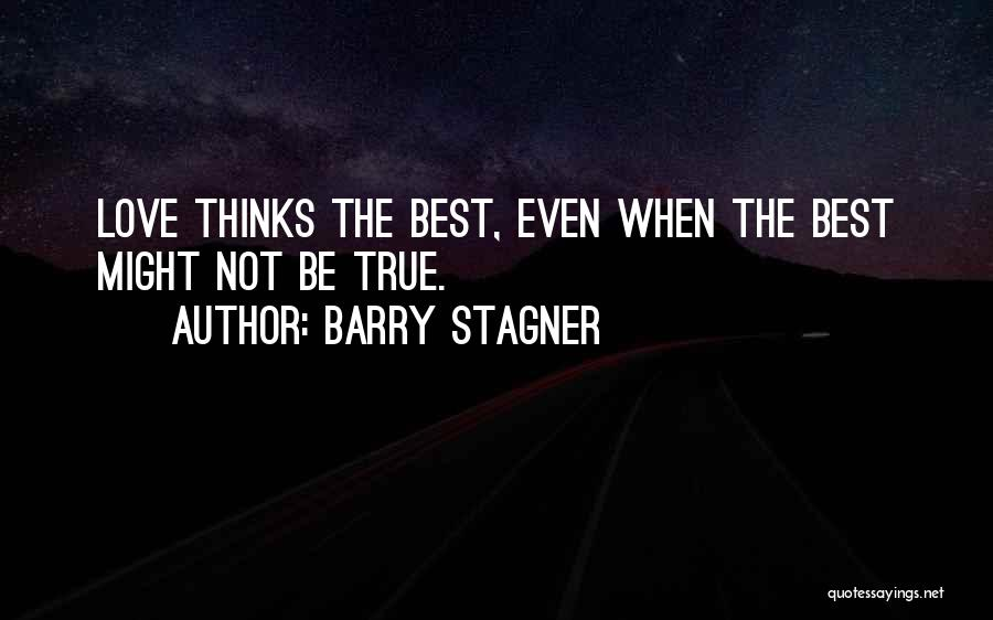 Barry Quotes By Barry Stagner