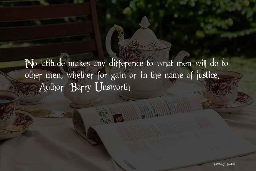 Barry Quotes By Barry Unsworth