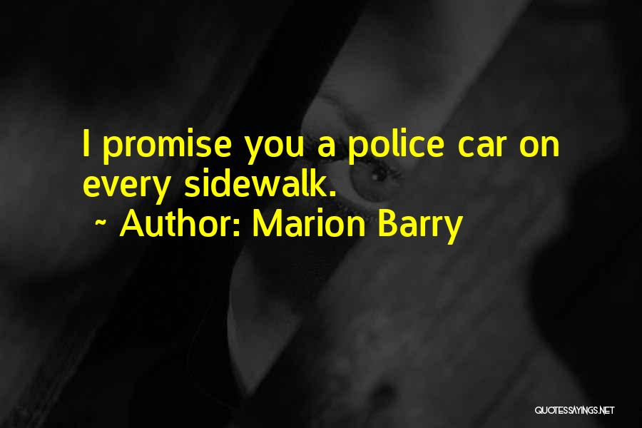 Barry Quotes By Marion Barry