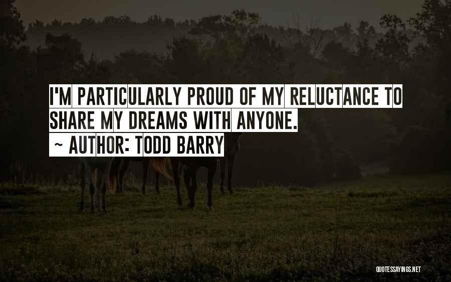 Barry Quotes By Todd Barry