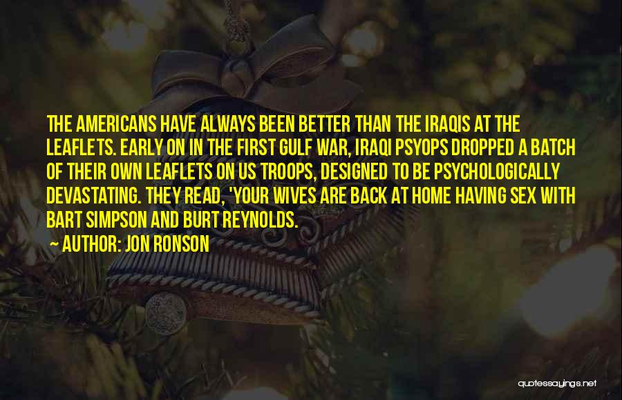 Bart Simpson Quotes By Jon Ronson