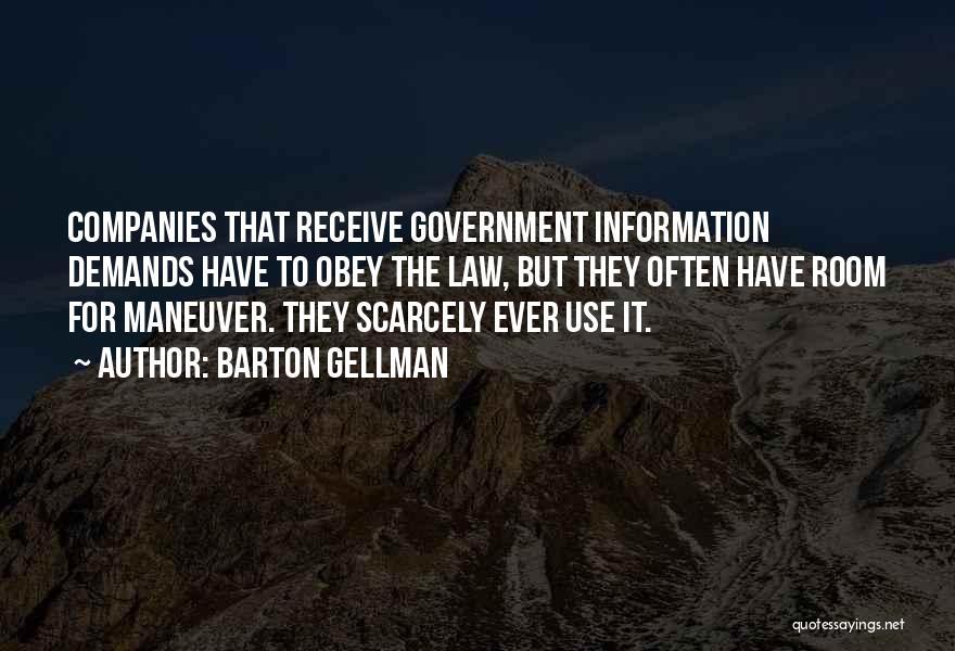 Barton Gellman Quotes 1723942