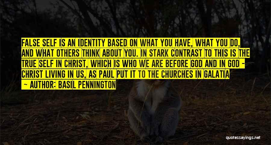 Based God Quotes By Basil Pennington